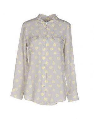 Pубашка EQUIPMENT FEMME. Цвет: светло-серый