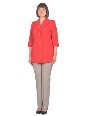 Жакет Томилочка Мода ТМ. Цвет: красный