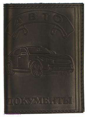 Обложка для автодокументов и паспорта JD.ZARZIS. Цвет: черный