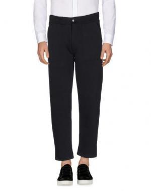 Повседневные брюки FUTUR. Цвет: черный