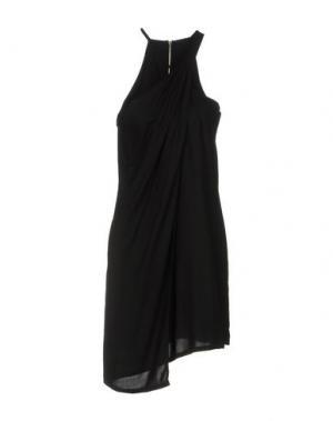 Короткое платье CLIÓ. Цвет: черный