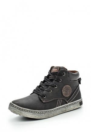 Ботинки Beppi. Цвет: серый