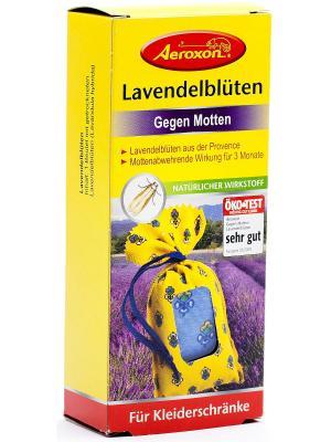 Натуральное средство от моли с цветками лаванды Aeroxon. Цвет: красный, желтый
