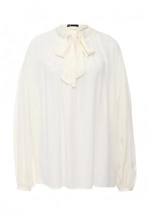 Блуза oodji. Цвет: бежевый