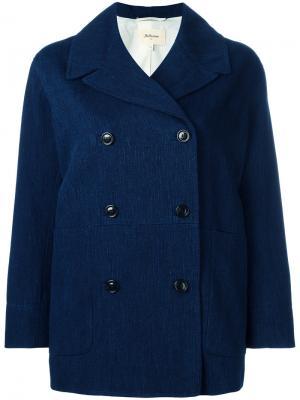 Пальто Vapes Bellerose. Цвет: синий