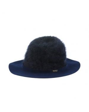 Головной убор SUPER DUPER HATS. Цвет: темно-синий
