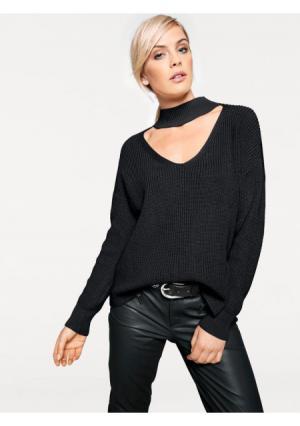Пуловер RICK CARDONA by Heine. Цвет: бежевый