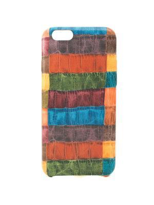 Чехол для iphone 6 JD.ZARZIS. Цвет: коричневый, зеленый, синий