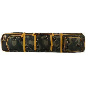Чехол для лыж  Nomad Wheelie Boardbag Camo Apo. Цвет: черный,зеленый