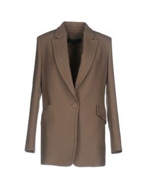 Пальто THEYSKENS' THEORY. Цвет: хаки