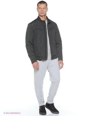 Куртка Grishko. Цвет: темно-серый