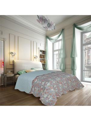Покрывало Decor 2 спальное Евро Amore Mio. Цвет: серый, красный