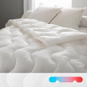 Одеяло синтетическое с чехлом из натурального материала REVERIE BEST. Цвет: белый