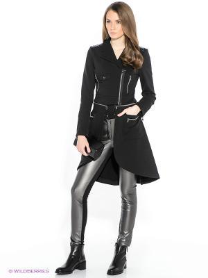 Пальто трикотажное DOCTOR E. Цвет: черный