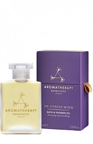 Масло для ванны De-Stress Mind Bath & Shower Oil Aromatherapy Associates. Цвет: бесцветный