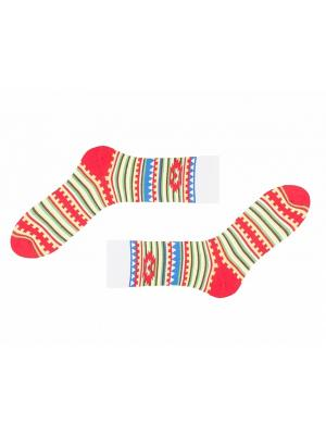 Носки Sammy Icon. Цвет: зеленый, красный, желтый, белый