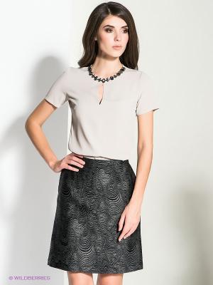 Блузка MICHELLE WINDHEUSER. Цвет: бежевый