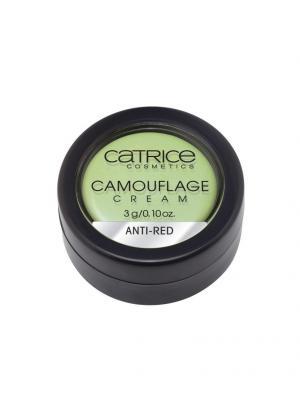 Кремовый корректор Camouflage Cream Anti-Red Catrice. Цвет: зеленый