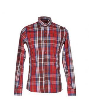 Pубашка MNML COUTURE. Цвет: красный