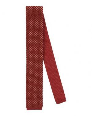 Галстук DUNHILL. Цвет: красно-коричневый