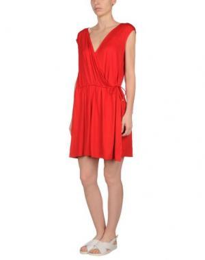 Пляжное платье MISS NAORY. Цвет: красный
