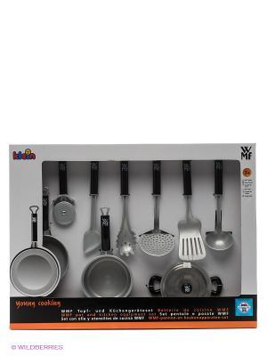 Набор посуды WMF KLEIN. Цвет: серебристый