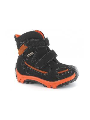 Ботинки Bartek. Цвет: черный,оранжевый