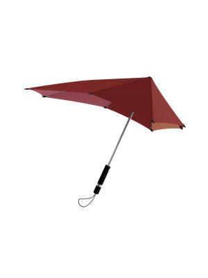 Зонт-трость senz Original african red slices. Цвет: бордовый, лиловый