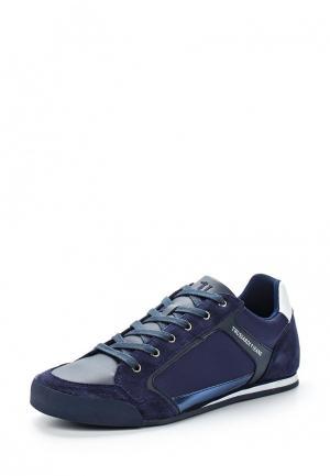 Кроссовки Trussardi Jeans. Цвет: синий
