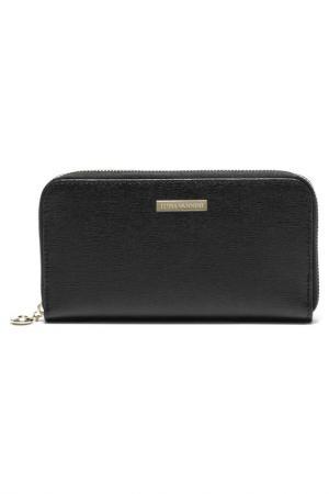 Бумажник LUISA VANNINI. Цвет: черный
