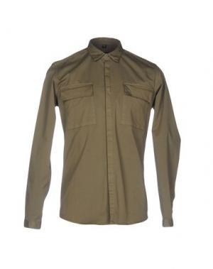 Pубашка CHOICE NICOLA PELINGA. Цвет: зеленый-милитари