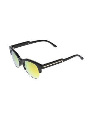 Солнцезащитные очки Infiniti. Цвет: черный, желтый