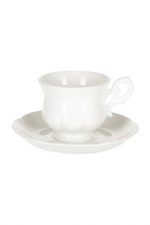 Кофейная пара Royal Porcelain. Цвет: белый