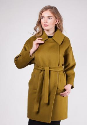 Пальто SHARTREZ. Цвет: коричневый