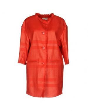 Легкое пальто KI6? WHO ARE YOU?. Цвет: красный