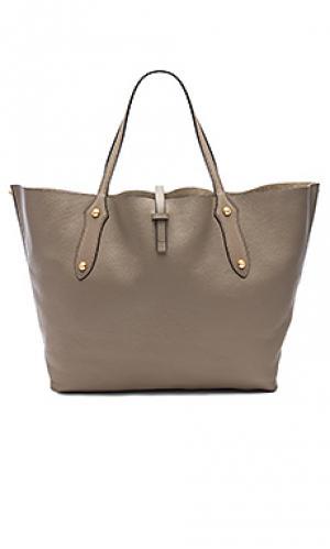 Большая сумка-тоут isabella Annabel Ingall. Цвет: серый