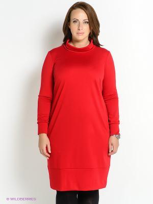 Платье Klimini. Цвет: красный
