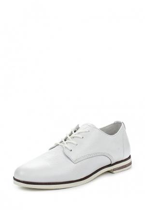 Ботинки Der Spur. Цвет: белый