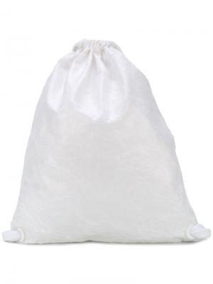 Рюкзак на шнурке No Ka Oi Ka'. Цвет: белый
