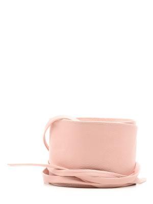 Пояс MARBI. Цвет: розовый