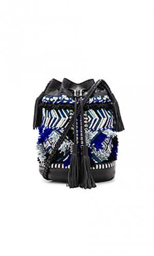 Сумка-мешок kilan Antik Batik. Цвет: синий