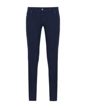 Повседневные брюки GEORGE J. LOVE. Цвет: темно-синий