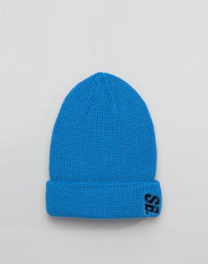 Nike SB Голубая шапка-бини Surplus 804539-435. Цвет: синий