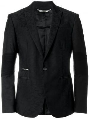 Buttoned blazer Philipp Plein. Цвет: чёрный