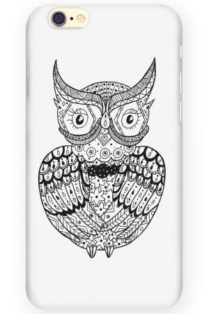 Чехол для IPhone 6 MITYA VESELKOV. Цвет: черный, белый