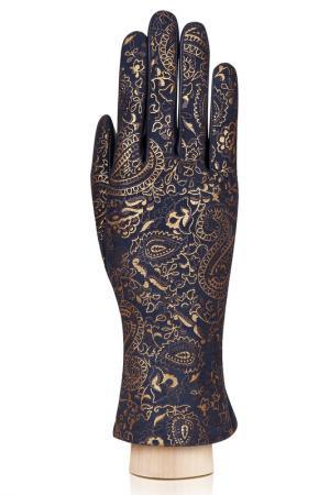 Перчатки Eleganzza. Цвет: темно-синий, золотой