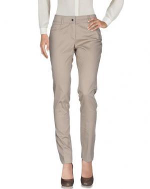 Повседневные брюки MARTA PALMIERI. Цвет: бежевый