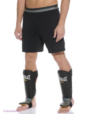 Защита голени и стопы GEL Grappling Everlast. Цвет: черный