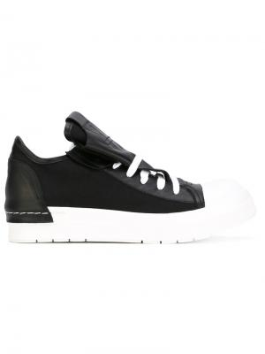 Кроссовки на шнуровке Cinzia Araia. Цвет: чёрный