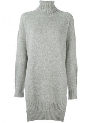 Длинный свитер Isabel Marant. Цвет: серый